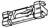NP876188 Roof Moulding Clip