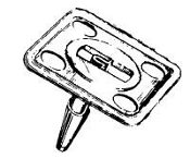 NP673119 Hood Insulation Retainer Clip
